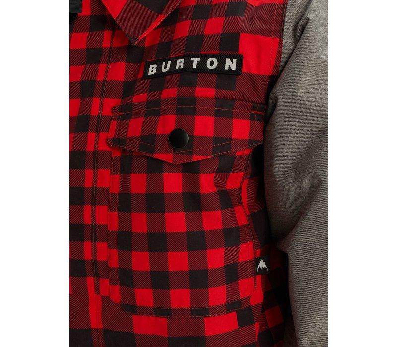 BURTON KIDS' UPROAR JACKET (19/20) BUFFALO-600