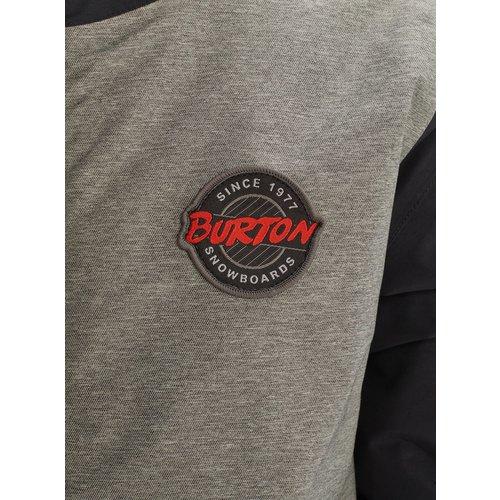 BURTON BURTON KIDS' GAMEDAY JACKET (19/20) BOG HEATHER / TRUE BLACK-020