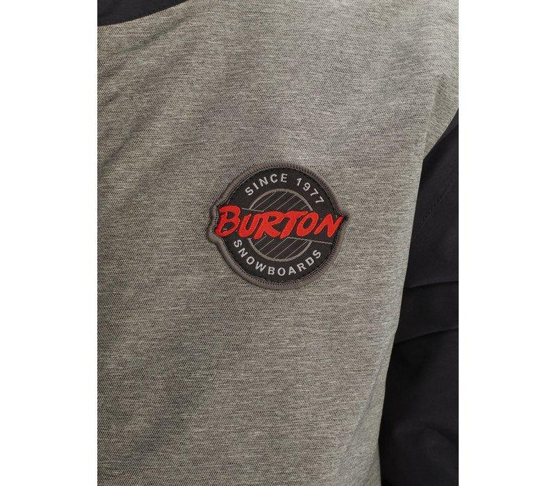 BURTON KIDS' GAMEDAY JACKET (19/20) BOG HEATHER / TRUE BLACK-020