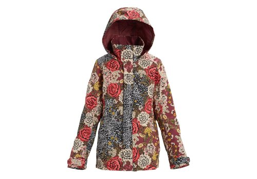 BURTON BURTON WOMEN'S JET SET JACKET (19/20) CHEETAH FLORAL-650