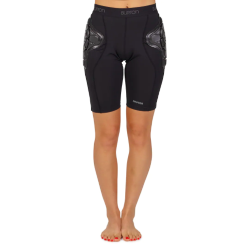 BURTON BURTON WOMEN'S IMPACT SHORT (19/20) TRUE BLACK-002