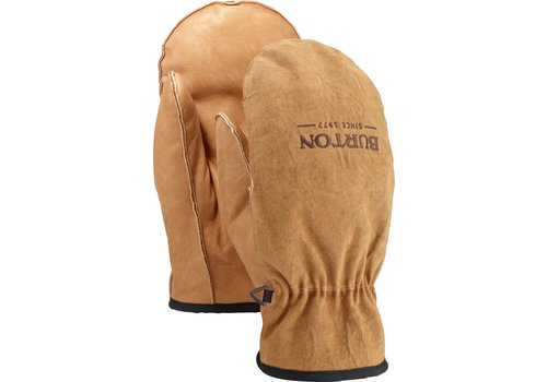 BURTON BURTON MEN'S WORK HORSE MITT (19/20) RAW HIDE-200