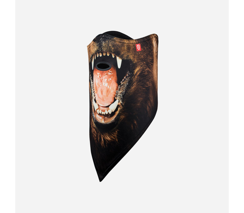 AIRHOLE FACEMASK STANDARD | 10K SOFTSHELL  (19/20) BEAR-BEAR