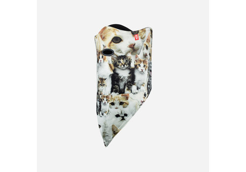 AIRHOLE AIRHOLE FACEMASK STANDARD   10K SOFTSHELL  (19/20) MEOW-MEOW