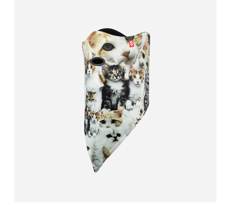 AIRHOLE FACEMASK STANDARD | 10K SOFTSHELL  (19/20) MEOW-MEOW
