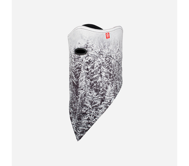 AIRHOLE FACEMASK STANDARD | 10K SOFTSHELL  (19/20) SNOW GHOSTS-SNGT