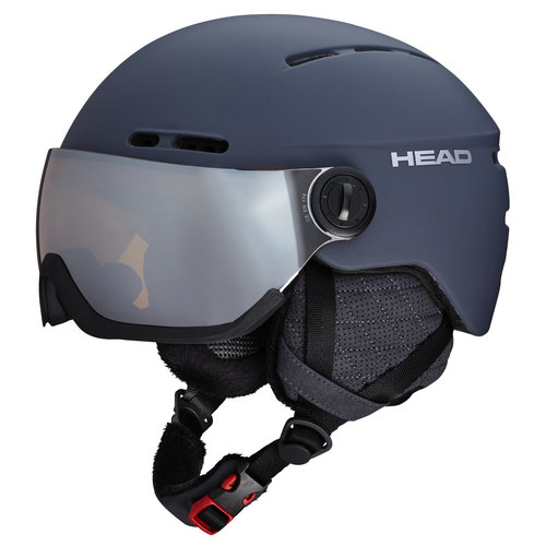 HEAD HEAD KNIGHT PRO + SPARE LENS (19/20) ANTHRACITE