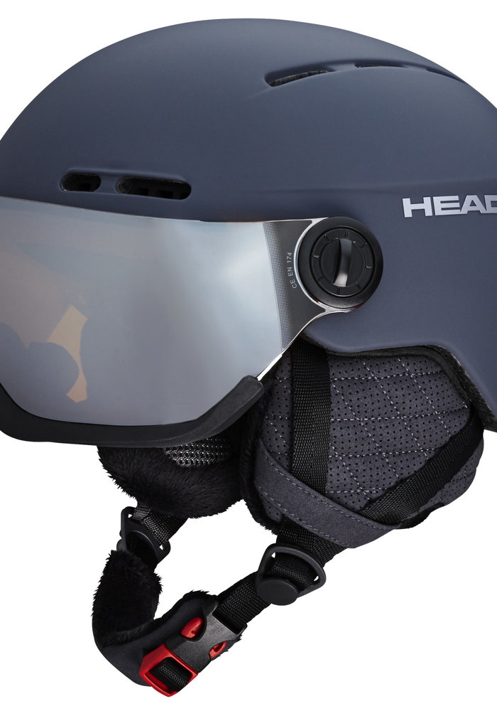 HEAD KNIGHT PRO + SPARE LENS (19/20) ANTHRACITE