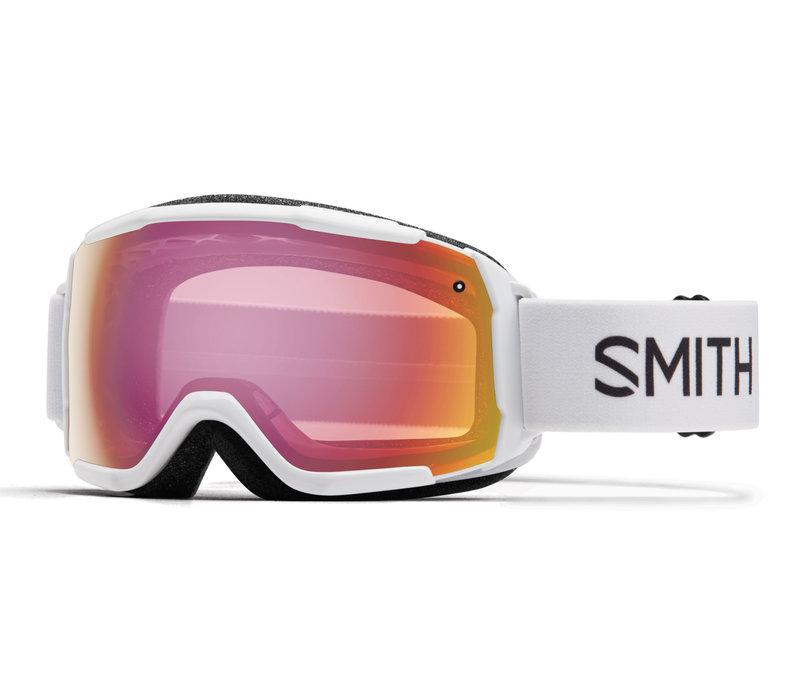 SMITH GROM (19/20) WHITE-RED SENSOR MIRROR