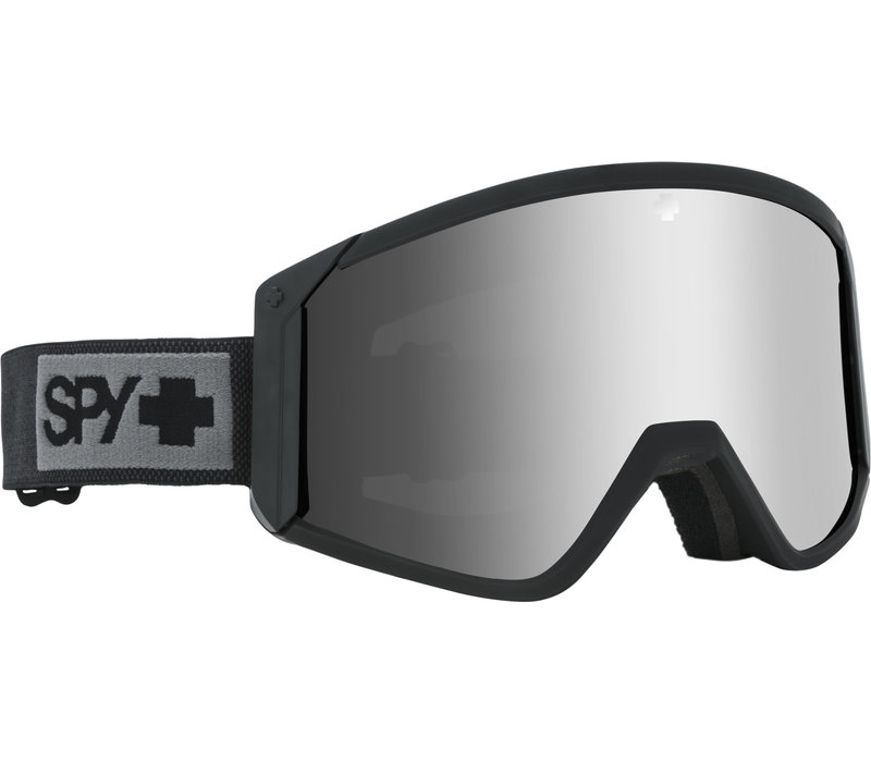 SPY RAIDER MATTE BLACK - HD BRONZE W/ SILVER SPECTRA MIRROR + HD LL PERSIMMON (19/20)
