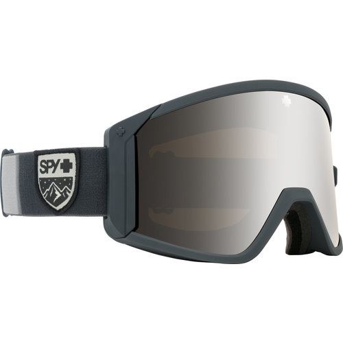 SPY SPY RAIDER COLORBLOCK GRAY - HD BRONZE W/ SILVER SPECTRA MIRROR + HD LL PERSIMMON (19/20)