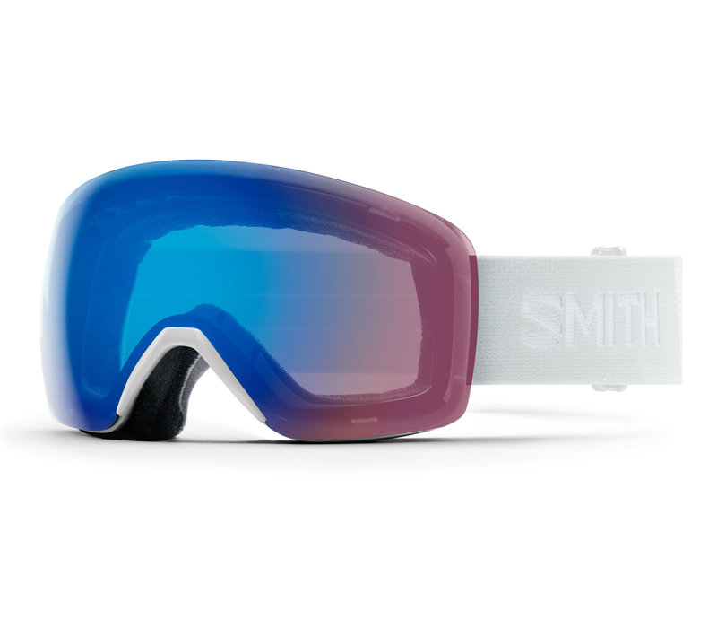SMITH SKYLINE  (19/20) WHITE VAPOR-CHROMAPOP STORM ROSE FLASH