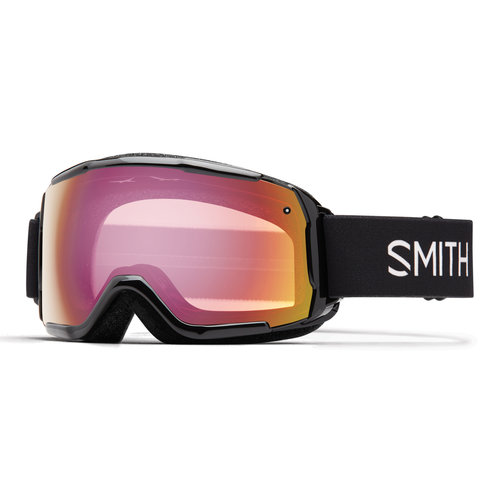 SMITH SMITH GROM (19/20) BLACK-RED SENSOR MIRROR