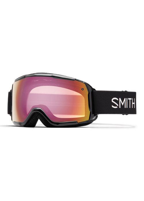 SMITH SMITH GROM (19/20) BLACK-RED SENSOR MIRROR