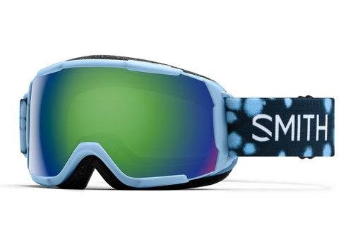 SMITH SMITH GROM (19/20) SMOKEY BLUE DOTS-GREEN SOL-X MIRROR