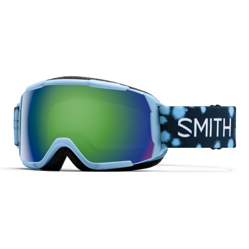SMITH SMITH GROM (19/20) SMOKEY BLUE DOTS-GREEN SOL-X MIRROR