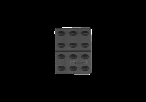 CRAB GRAB CRAB GRAB MINI SHARK TEETH  (19/20) BLACK