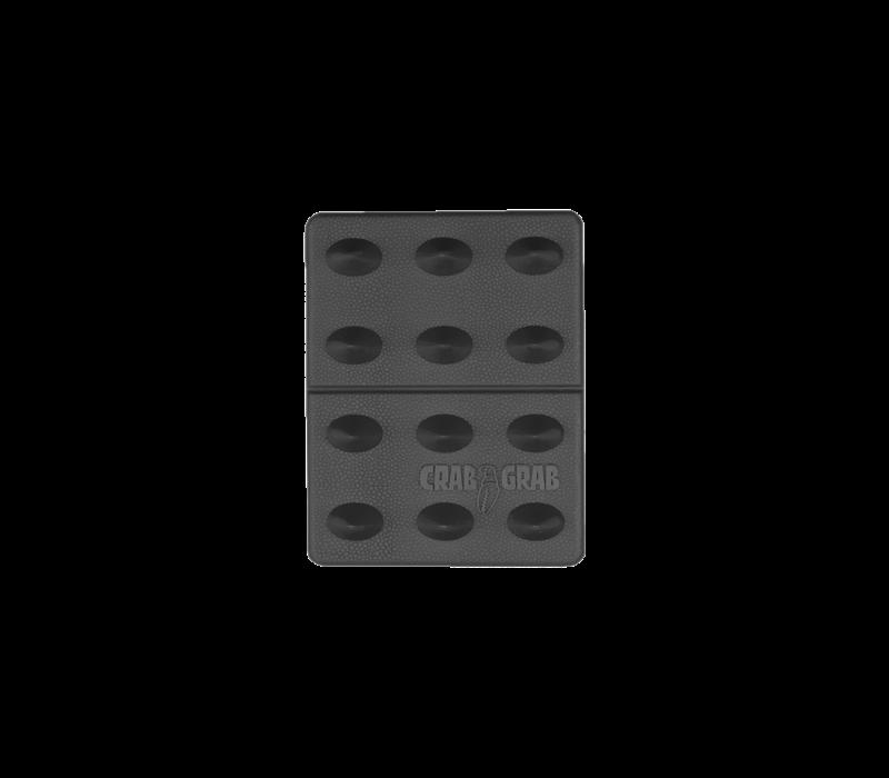 CRAB GRAB MINI SHARK TEETH  (19/20) BLACK