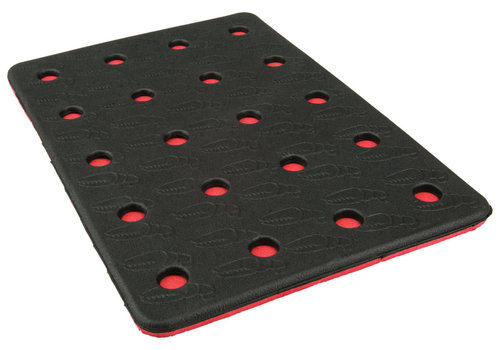 CRAB GRAB CRAB GRAB HOLEY SHEET  (19/20) BLACK RED