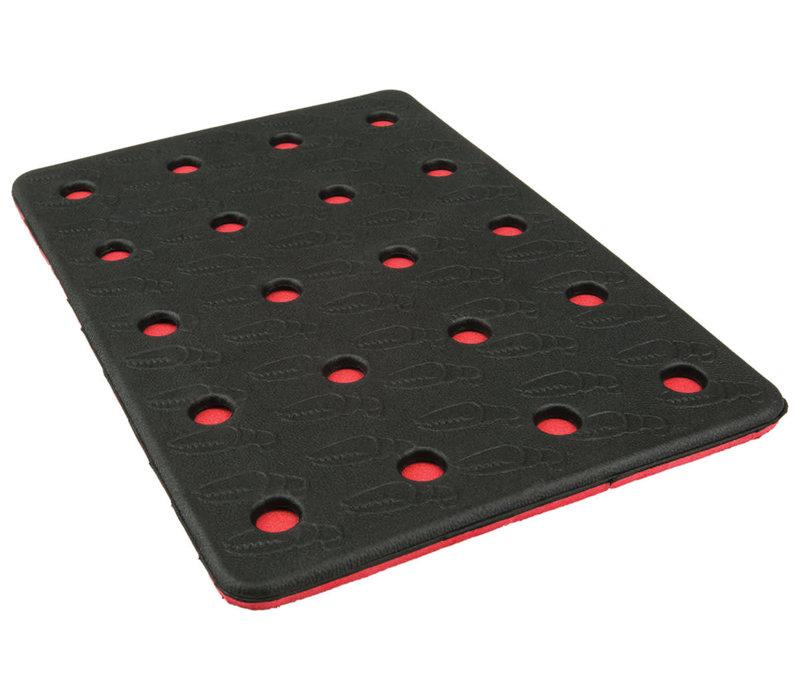 CRAB GRAB HOLEY SHEET  (19/20) BLACK RED