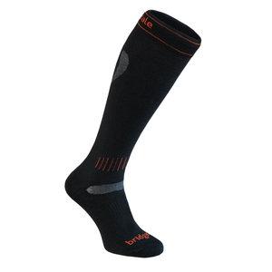 Bridgedale Bridgedale Ski Ultra Fit (20/21) 009 Black/Orange *Final Sale*