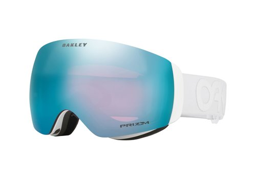 OAKLEY OAKLEY FLIGHT DECK XM FACTORY PILOT WHITEOUT W/PRIZM SAPPHIRE IRIDIUM (19/20)