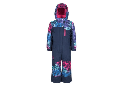 JUPA JUPA KIDS GIRLS CAMILLIA ONE PIECE SUIT (19/20) MEDIEVAL BLUE-BL105