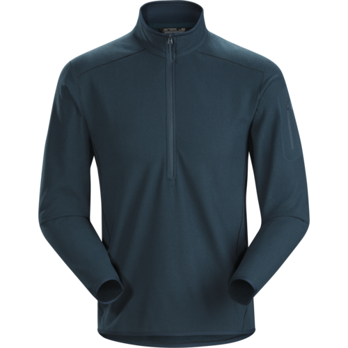 ARCTERYX ARCTERYX DELTA LT ZIP NECK MEN'S (19/20) LABYRINTH-27829