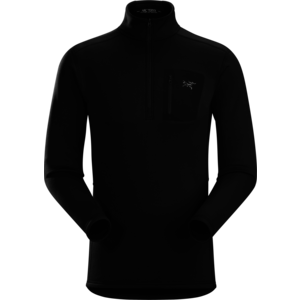 ARCTERYX Arc'Teryx Rho Ar Zip Neck Mens (20/21) Black