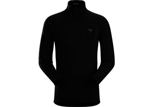 ARCTERYX ARCTERYX RHO AR ZIP NECK MEN'S (19/20) BLACK-BLK