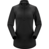 ARCTERYX ARCTERYX RHO AR ZIP NECK WOMEN'S (19/20) BLACK-BLK