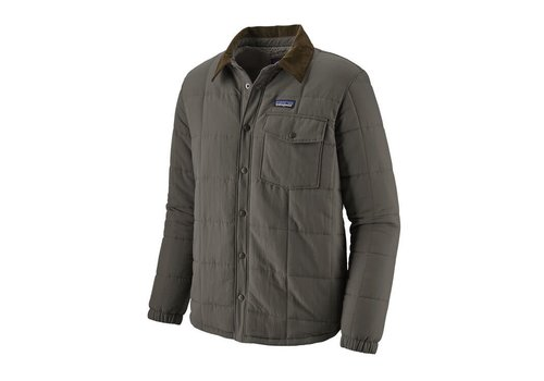 PATAGONIA PATAGONIA M'S ISTHMUS QUILTED SHIRT JACKET  (19/20) FORGE GREY-000-FGE