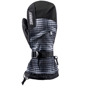Swany SWANY X-OVER MITT WOMENS (19/20) BW/BK *Final Sale*