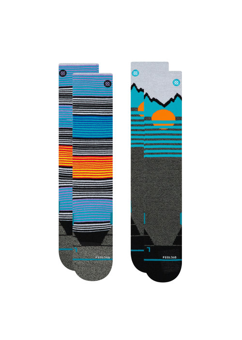 STANCE STANCE MENS MOUNTAIN 2 PACK (19/20) MULTI-MUL
