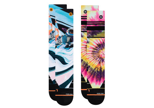 STANCE STANCE WOMENS MOUNTAIN 2 PACK (19/20) MULTI-MUL