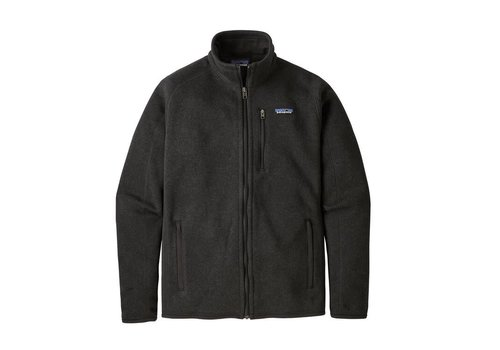 PATAGONIA PATAGONIA M'S BETTER SWEATER® JACKET  (19/20) BLACK-000-BLK