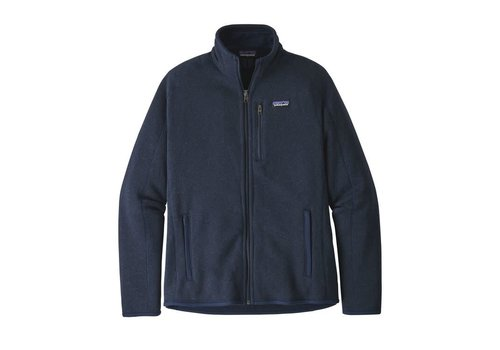 PATAGONIA PATAGONIA M'S BETTER SWEATER® JACKET  (19/20) NEW NAVY-000-NENA