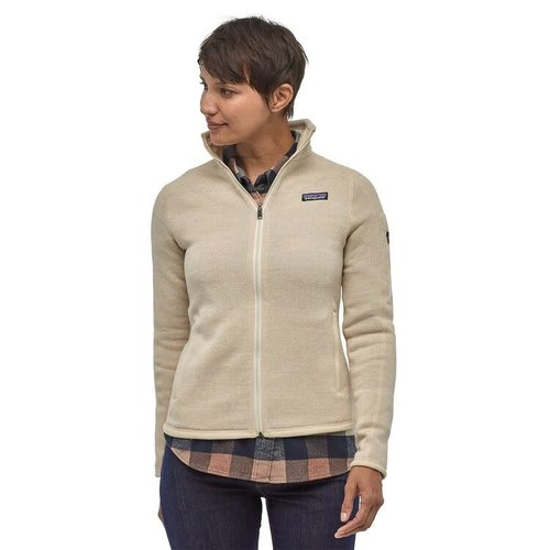 PATAGONIA Patagonia W'S Better Sweater Jkt (20/21) Oyster White - Oywh *Final Sale*