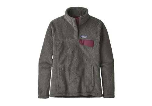 PATAGONIA PATAGONIA W'S RE-TOOL SNAP-T® PULLOVER  (19/20) FEATHER GREY - INK BLACK X-DYE W/LIGHT BALSAMIC-000-FIXB