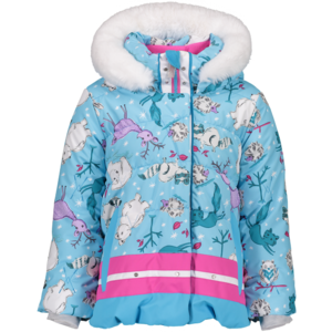 OBERMEYER OBERMEYER BUNNY JACKET WILD WINTER-51056 WITH SNOVERALL PANT BERRIED TREASUR-55028 (19/20)