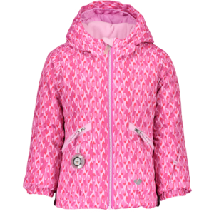 OBERMEYER OBERMEYER GLAM JACKET PINK & PINKER-51051 WITH SNOVERALL PANT BERRIED TREASUR-55028 (19/20)