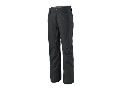 PATAGONIA PATAGONIA W'S INSULATED SNOWBELLE PANTS - REGULAR (19/20) BLACK-155-BLK