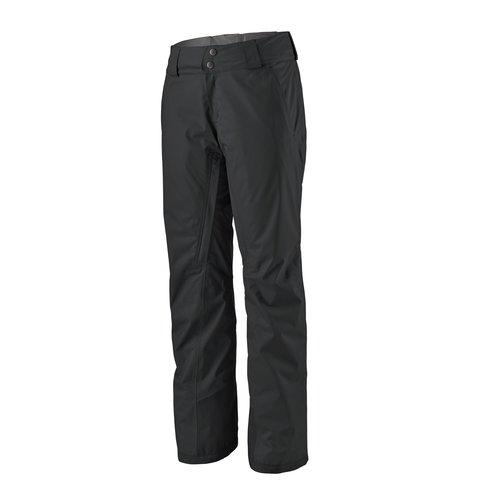 PATAGONIA PATAGONIA W'S INSULATED SNOWBELLE PANTS - REGULAR (19/20) BLACK-155-BLK