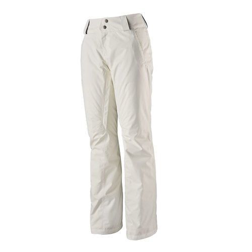 PATAGONIA PATAGONIA W'S INSULATED SNOWBELLE PANTS - REGULAR (19/20) BIRCH WHITE-307-BCW