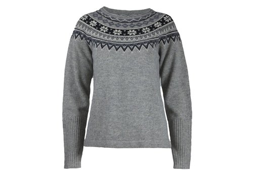 SKHOOP SKHOOP SCANDINAVIAN SWEATER GREY (19/20)