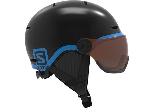 SALOMON Salomon Jr Grom Visor Black Helmet - (17/18)