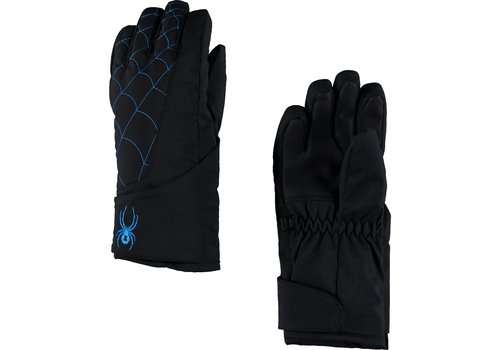 SPYDER Spyder Mini Overweb Ski Glove 017 Black/French Blue - (17/18)