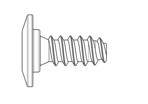 HEAD HEAD SCREW FOR FREEFLEX BINDING CONNECTION 5,5 X 8,2 (Single)