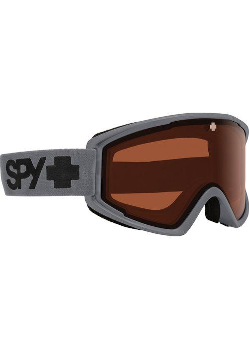 SPY SPY CRUSHER ELITE MATTE GRAY - HD LL PERSIMMON (19/20)