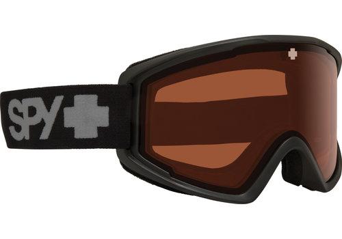 SPY SPY CRUSHER ELITE MATTE BLACK - HD LL PERSIMMON (19/20)